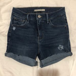 Levi's jeans into shorts